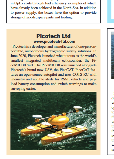 Picotech Selected for MTR 100
