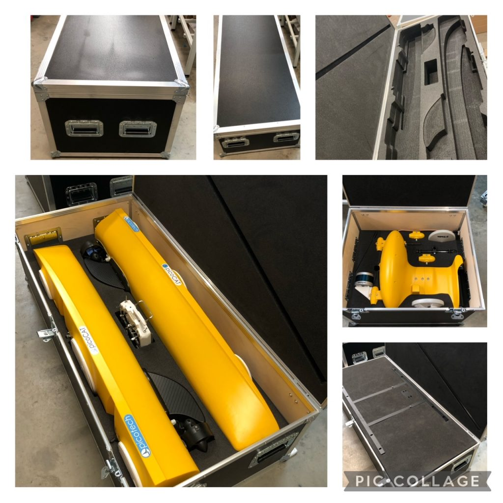 New flight cases, new products…